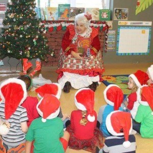The REAL Mrs. Claus - Storyteller in Davenport, Florida