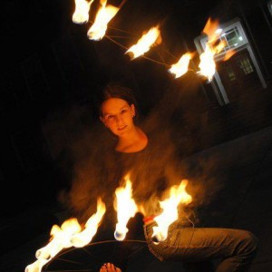 The Red Vixen - Fire Performer / Outdoor Party Entertainment in Halifax, Nova Scotia