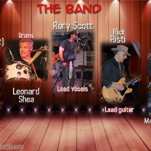 The Rory Scott Band - Country Band in Concord, New Hampshire