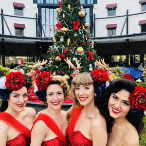 The Satin Dollz - 1940s Holiday Big Band Show - Holiday Entertainment in Los Angeles, California