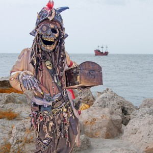 The Skeleton Pirate - Pirate Entertainment in Fort Myers Beach, Florida