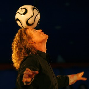 The Soccerball Juggler - Juggler / Circus Entertainment in Vancouver, British Columbia