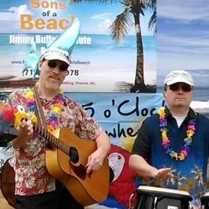 The Sons of a Beach - Jimmy Buffett Tribute / Beach Music in Watkins Glen, New York