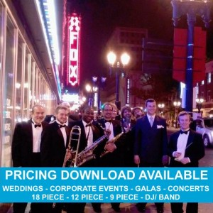 The St. Louis Big Band - Wedding Band / Rat Pack Tribute Show in New Orleans, Louisiana