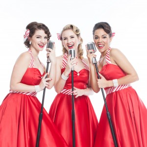 The Sugarplums - Christmas Carolers / Oldies Tribute Show in Los Angeles, California