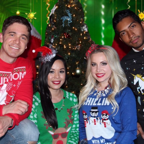 Hire The Ugly Sweater Kids Party Band In Los Angeles California