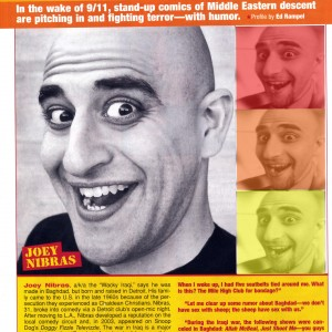 The wAcky iRaqi - Comedian in Franklin, Michigan