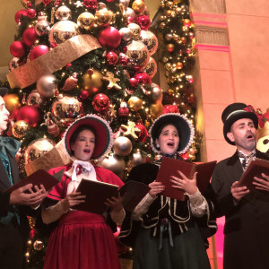 The Yuletide Singers - Christmas Carolers in New York City, New York