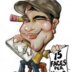The Cartoon Boy! - Caricaturist / Wedding Entertainment in Houston, Texas