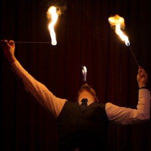 Thom Britton Chicago Fire Eater - Fire Eater in Chicago, Illinois