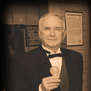 Thomas Edison Reenactor - Historical Character in Northville, Michigan