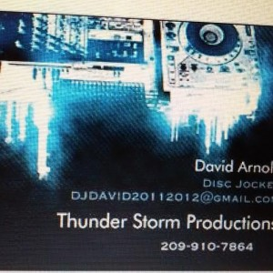 Thunder storm production - Mobile DJ in Stockton, California