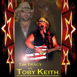Tim Tracy as Toby Keith - Toby Keith Impersonator / Actor in North Las Vegas, Nevada