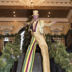 Tiny Tallman - Stilt Walker in Lexington, Kentucky