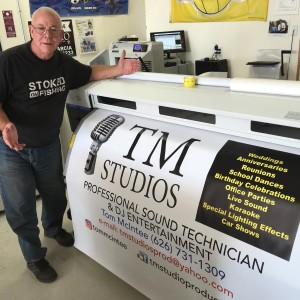 TM Studios mobile DJ