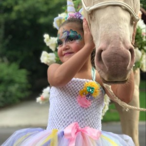 Layla the Magical Unicorn - Pony Party in Dawsonville, Georgia