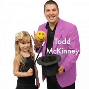 Best Magician 4 Kids- Todd McKinney - Children's Party Magician / Comedy Magician in Fort Worth, Texas