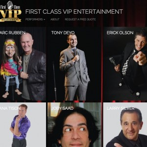 First Class VIP Entertainment Group - Corporate Comedian / Interactive Performer in Springfield, Illinois