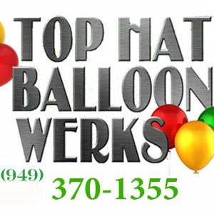Top Hat Balloon Werks - Balloon Decor / Event Florist in Orange County, California
