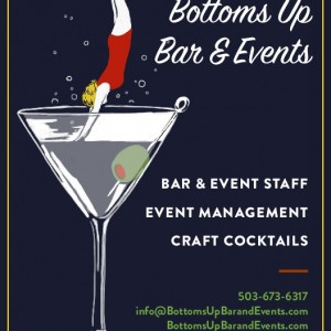 Bottoms Up Bar & Events - Bartender in Portland, Oregon