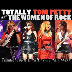 Totally Tom Petty Hosts the Women of Rock - Party Band / Halloween Party Entertainment in Palm Springs, California