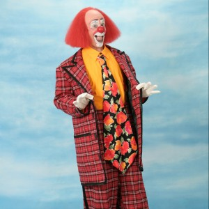 """Toto"" Johnson - Clown in Davenport, Iowa"