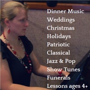 Touch of Class Live and Lessons - Singing Pianist in Longview, Washington