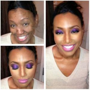 Tracii's makeup