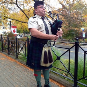 Traditional Scottish Piper
