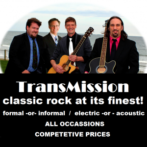 Transmission - Cover Band / College Entertainment in Providence, Rhode Island