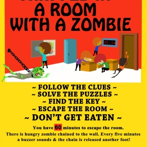 Trapped In A Room With A Zombie - Murder Mystery in Chicago, Illinois