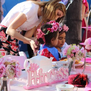 Traveling Tea Parties - Princess Party in Orange County, California