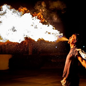 Spread The Flow - Fire Performer / Fire Eater in Stuart, Florida