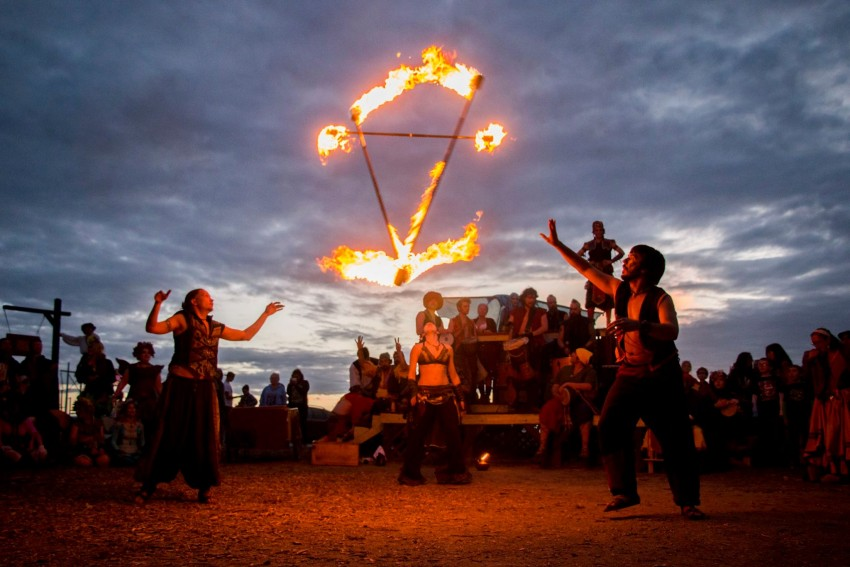 Hire Tricks Of The Light Show Fire Performer In Kansas