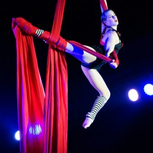 Trish Paulos - Aerialist in Pullman, Washington
