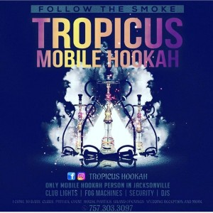 Tropicus Mobile Hookah - Caterer / Wedding Services in Jacksonville, Florida