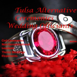 Tulsa Alternative Ceremonies - Wedding Officiant in Tulsa, Oklahoma