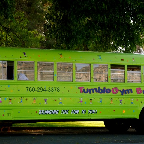 Hire Tumble Gym Bus Party Rentals In San Diego California