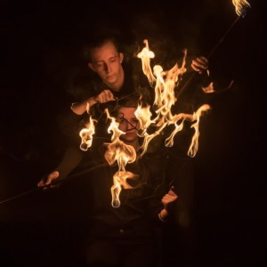 Twintellect - Fire Performer in Detroit, Michigan