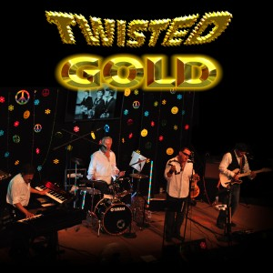Twisted Gold Band