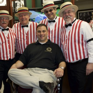 Twisted Mustache Barbershop Quartet