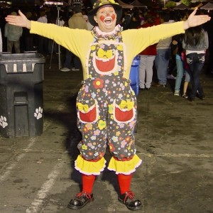 Twizzle The clown