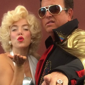 Two Kings and the Showgirl - Elvis Impersonator in Sacramento, California