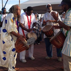 Tyehimba African Drum and Dance Ensemble - Drum / Percussion Show in Philadelphia, Pennsylvania