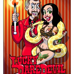 Lucky Daredevil - Las Vegas Style Entertainment / Sideshow in Harpers Ferry, West Virginia