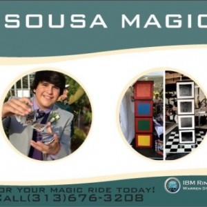 Tyler Sousa Magic - Magician in Taylor, Michigan