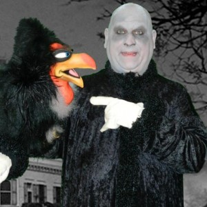 Daniel Jay as Uncle Fester - Look-Alike in Warren, Ohio
