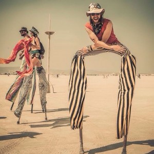 Uncle Frolick - Stilt Walker in Toronto, Ontario