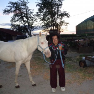 Unicorn White Horse Rides - Pony Party / Horse Drawn Carriage in Sanger, California