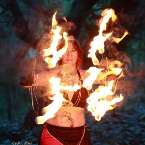 Gypsy Fire Dance - Fire Dancer in Sacramento, California